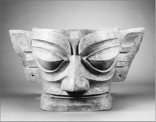 bronzemaske
