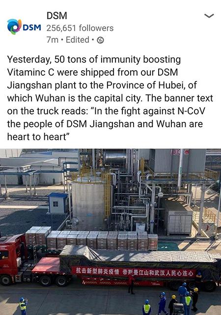 China Vitamin C DSM