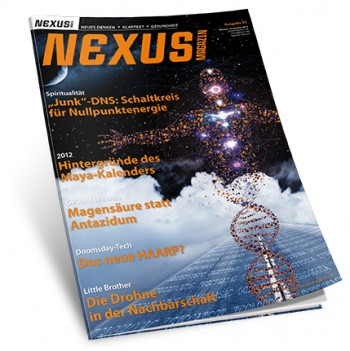 NEXUS Magazin 43, Oktober-November 2012
